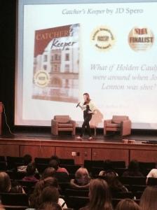 Author visit to High Schools