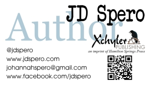 JD Spero card front