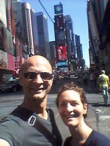 Jim Davies & JD Spero on the street