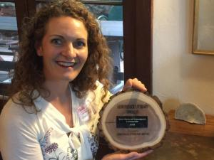 Adirondack Literary Award Winner