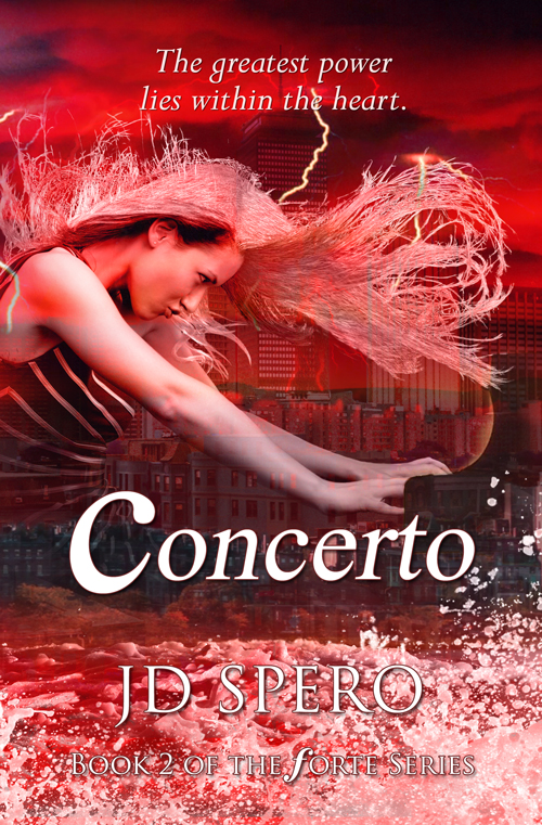 Concerto, Book 2 of YA fantasy series - Forte - releases Dec 1