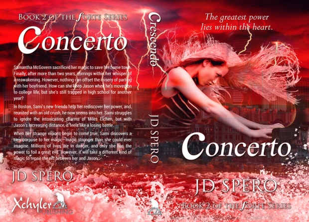 Cover reveal YA fantasy series CONCERTO releases Dec 1