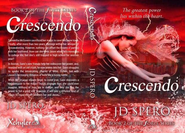 Crescendo YA fantasy to release Dec 1